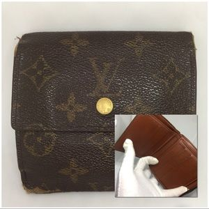 ❤️AFFORDABLE❤️Louis Vuitton Wallet w/ hooks Purse